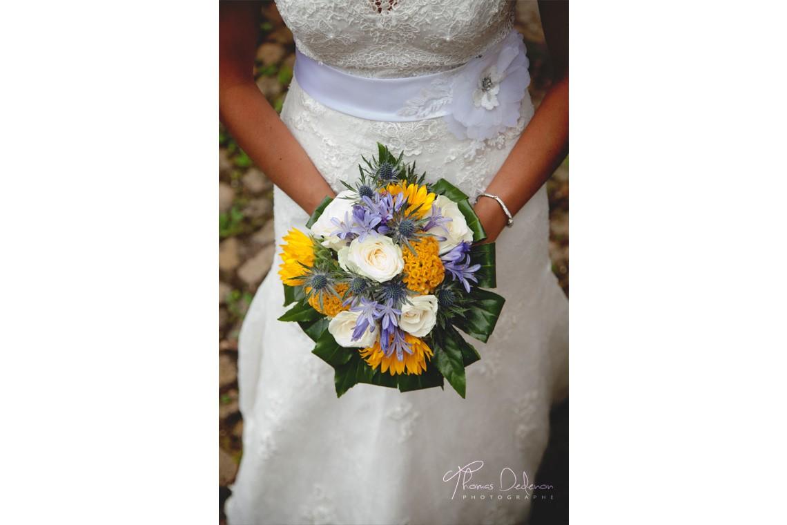bouquet de la marie - Photographe Mariage Troyes