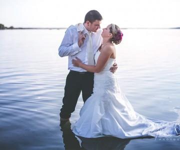 Mariage de M + J dans l'aube, et une séance Day After à Troyes