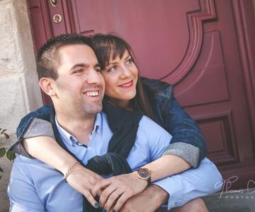 Séance couple sous le soleil de La Rochelle