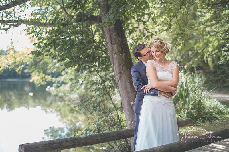 Photo de Mariage à Sens au parc de la Ballastière