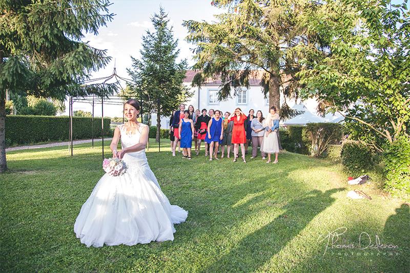 jeté de bouquet mariage