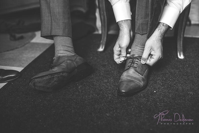 photo de chaussures de marié
