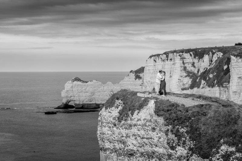 love session Etretat Normandie
