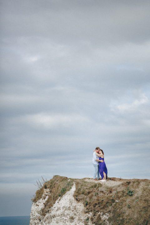 Séance engagement falaises Etretat