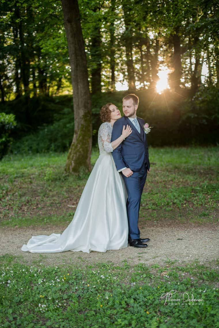 photo de couple - mariage abbaye de trois fontaine