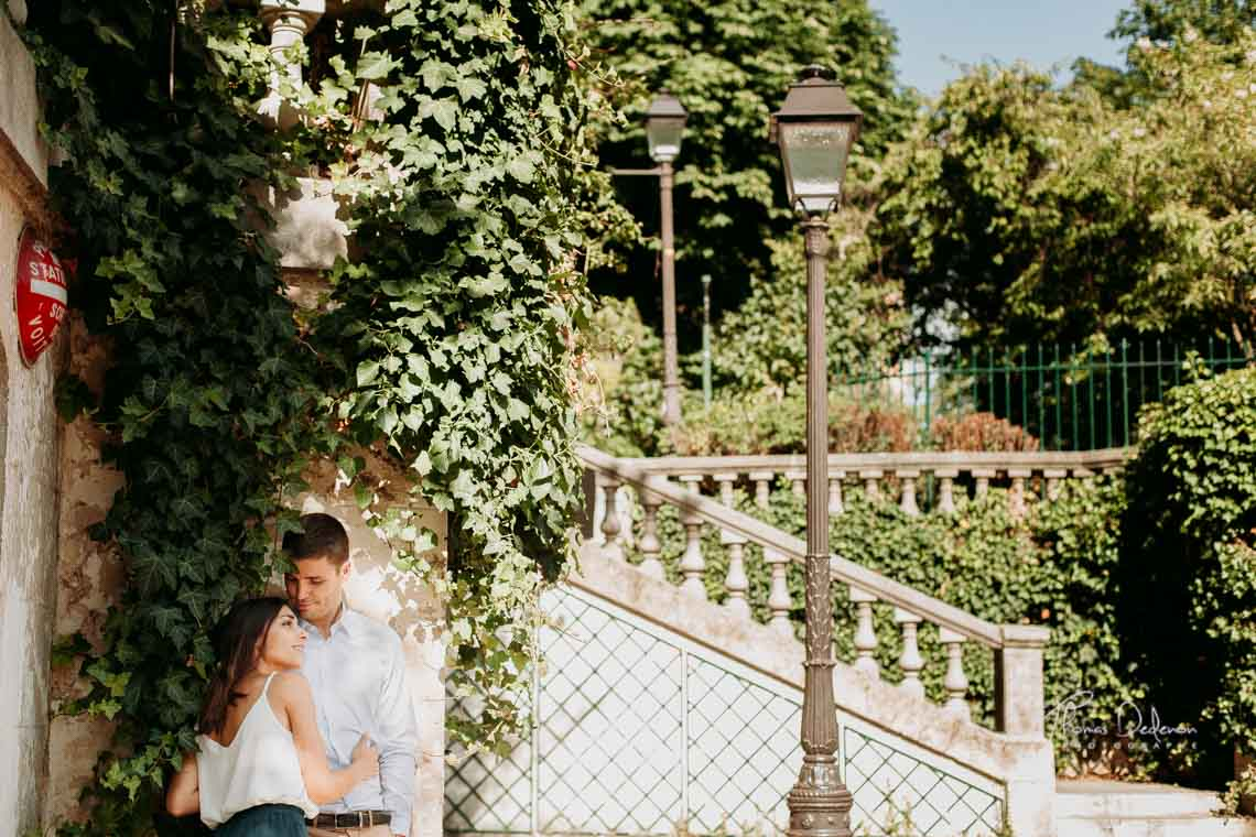 photo couple engagement montmartre