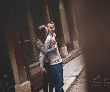 Séance Engagement | B + A | Photographe Mariage Troyes