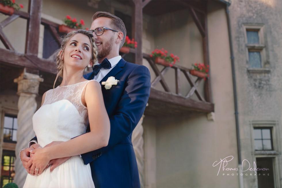 La séance photo de couple lors du mariage