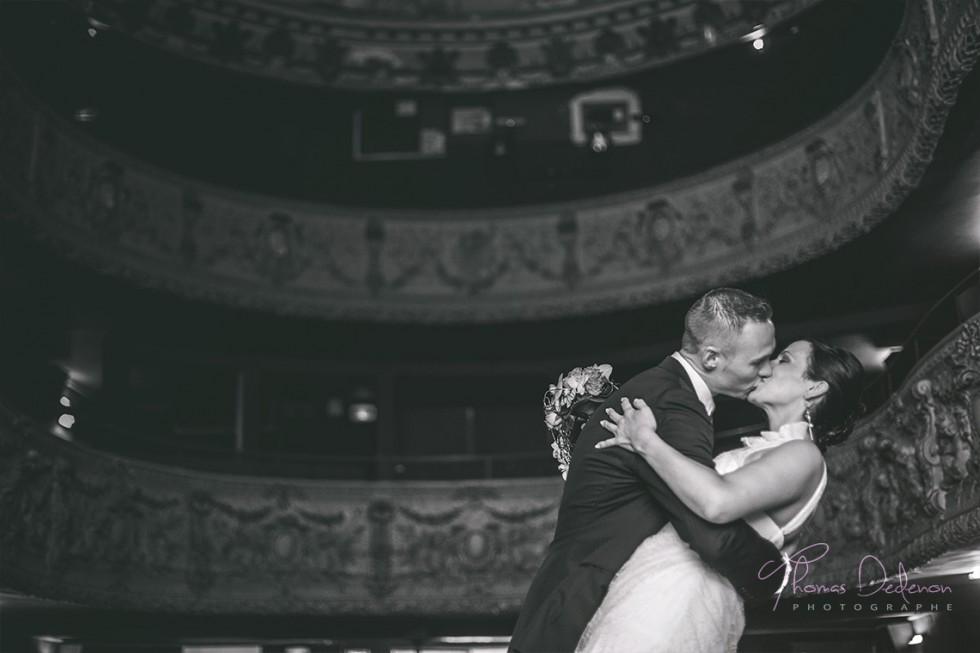 Séance Day After dans un ancien théâtre pour ce joli couple