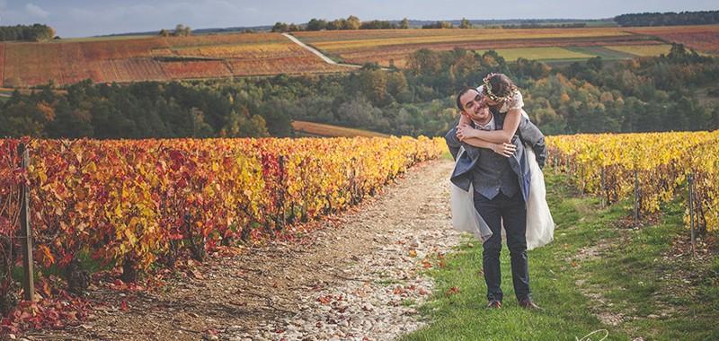 Mariage Romantique d'automne près de Troyes