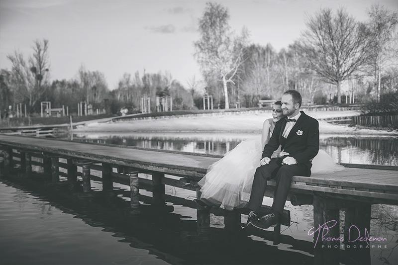 Séance photo romantique au lac de paisy cosdon