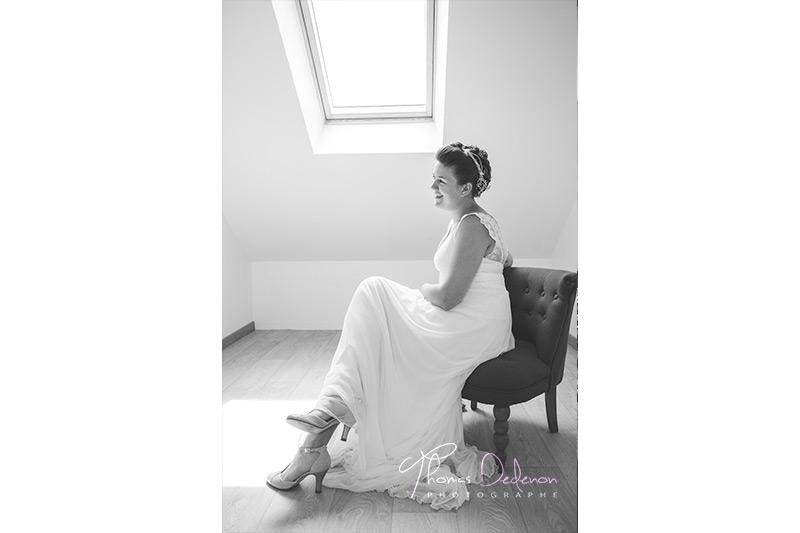 photo d'une mariée
