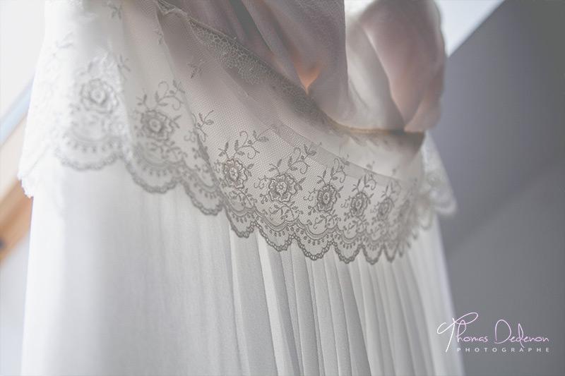 Robe de Mariée détail