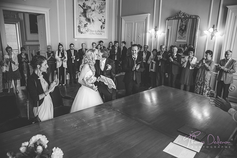 reportage photo mariage mairie