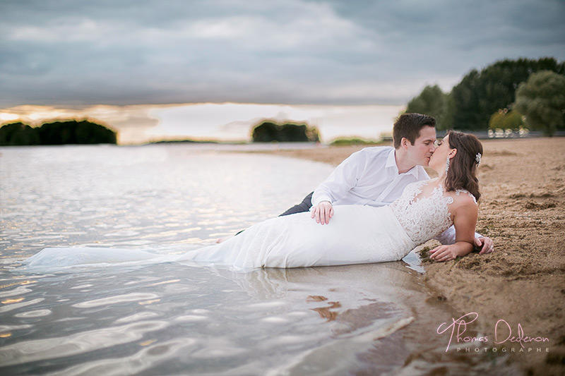 seance trash the dress sur la plage