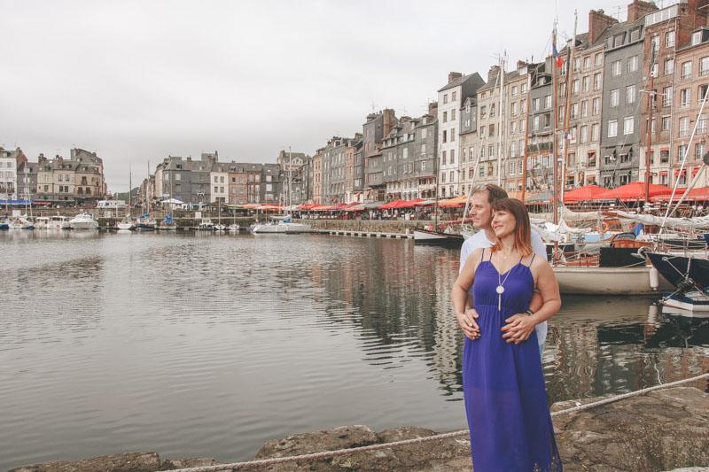 Love session à Honfleur sur le port