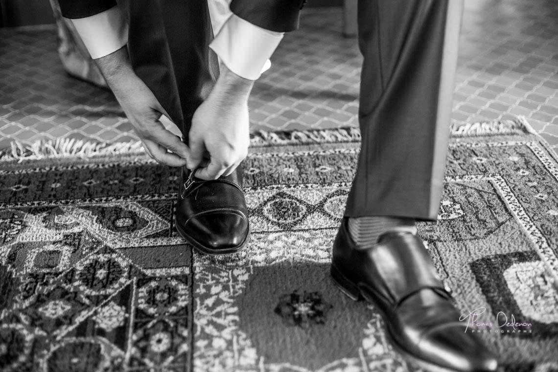 préparatifs du marié, mariage à saint dizier