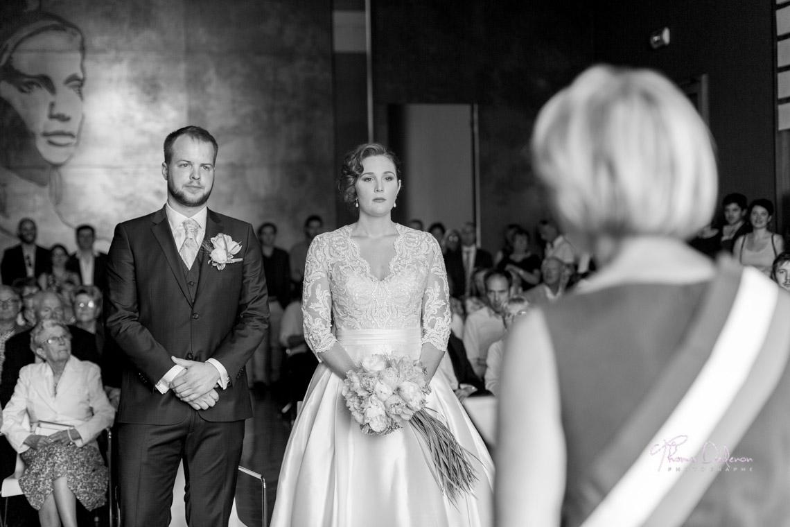 Les mariés à la mairie de St Dizier