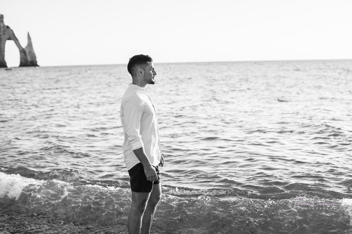 photo modèle masculin etretat