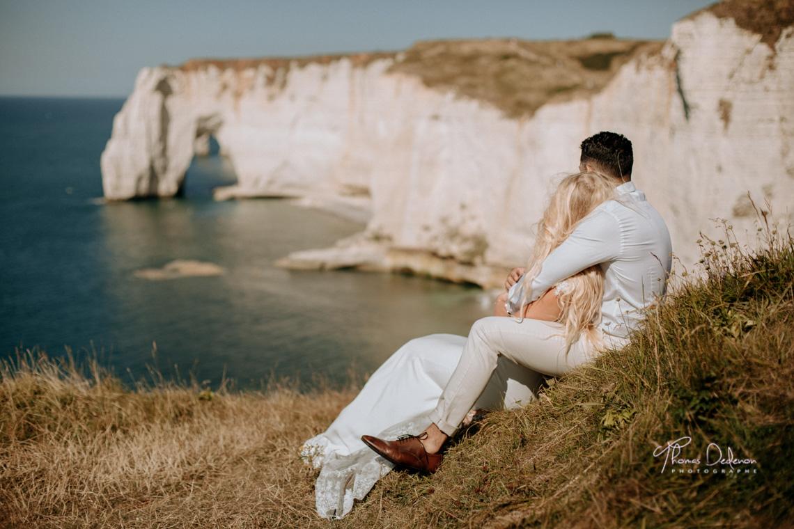 Love Session à Etretat en Normandie