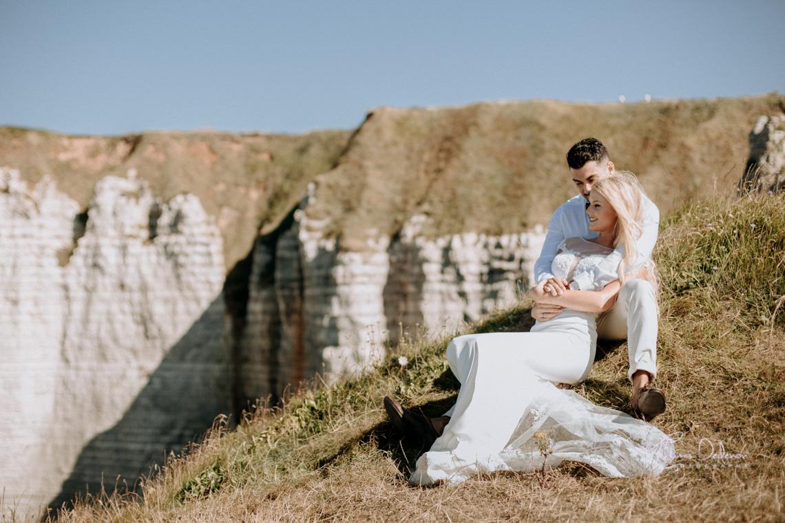 Séance photo de couple Etretat