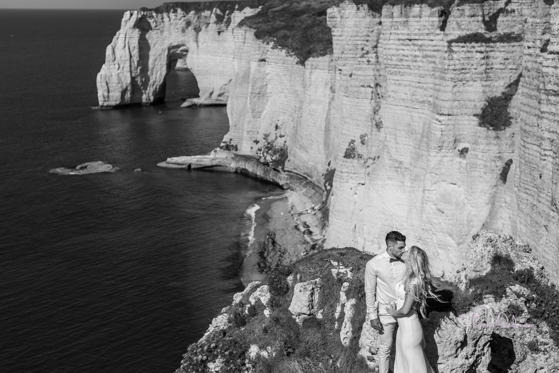 Seance Engagement sur les falaises d'Etretat