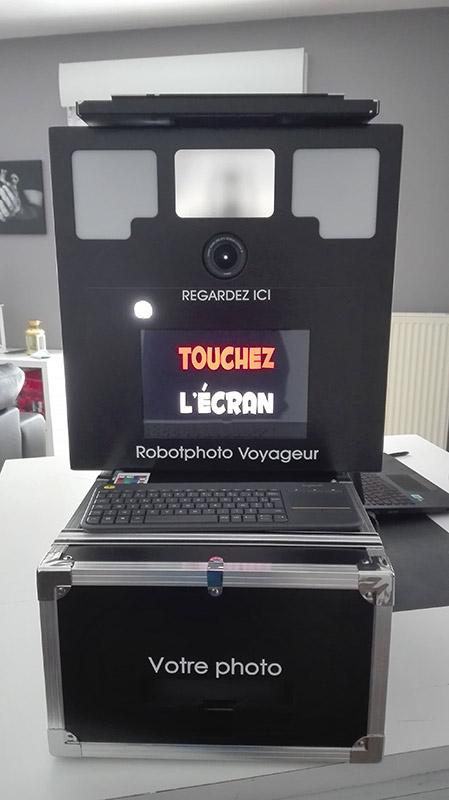 Borne Selfie Troyes - Location Photomaton