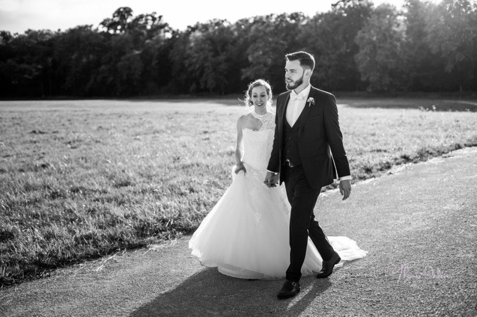 Photo de mariage de couple au chateau de vaux