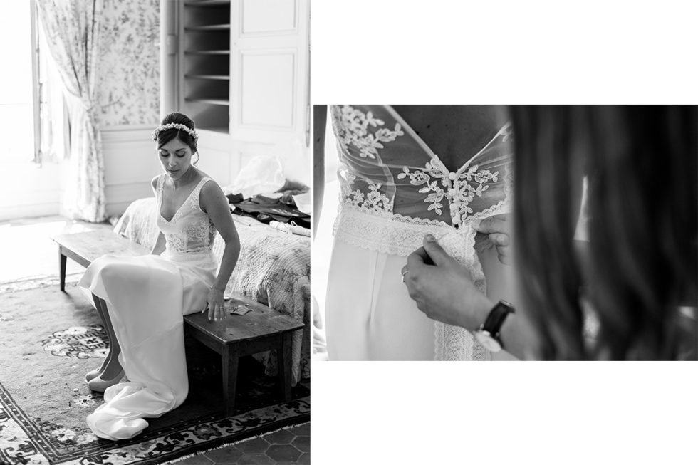 robe mariage laura et jordana sitbon