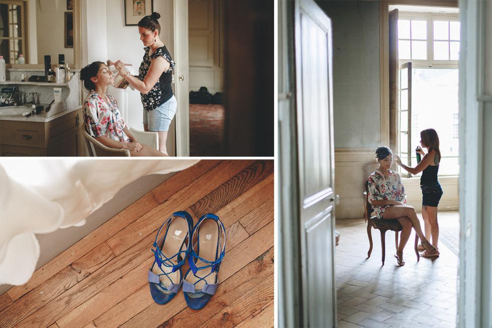 reportage photo de mariage au chateau de la ferté saint aubin