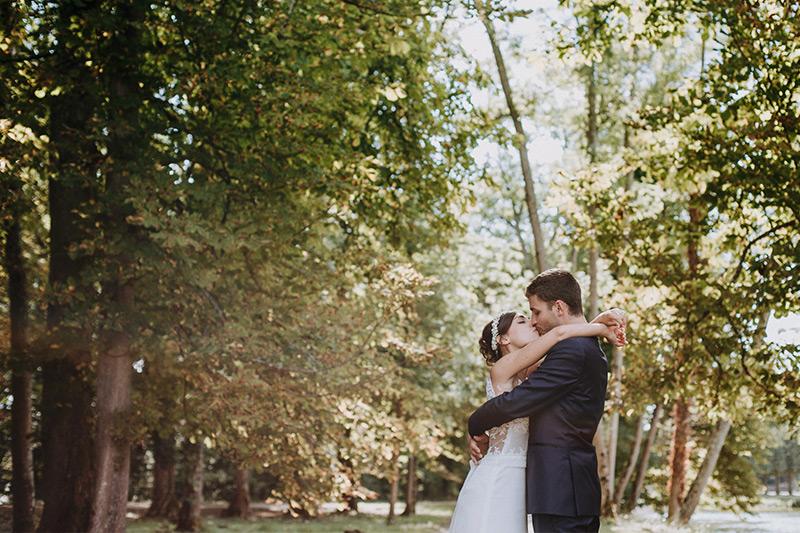 photo de mariage chateau la ferté saint aubin