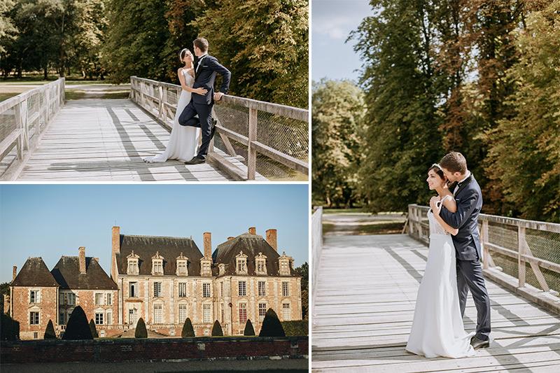mariage chateau la ferté saint aubin