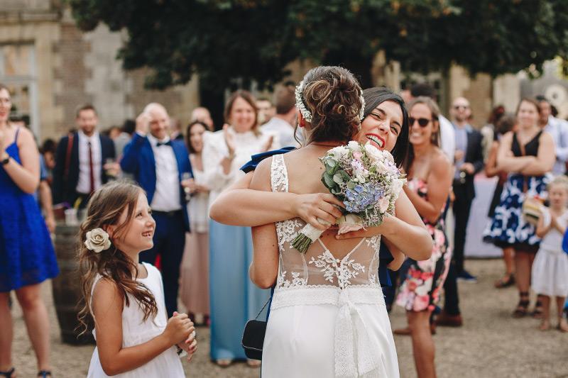 reportage mariage vin d'honneur la ferté saint aubin
