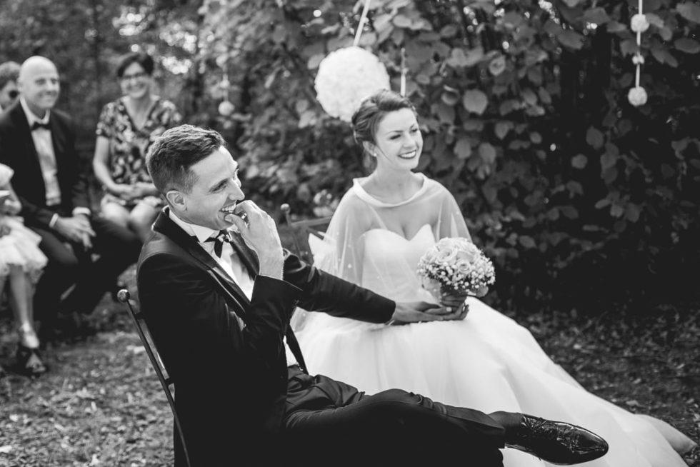 Cérémonie laique pour les mariés