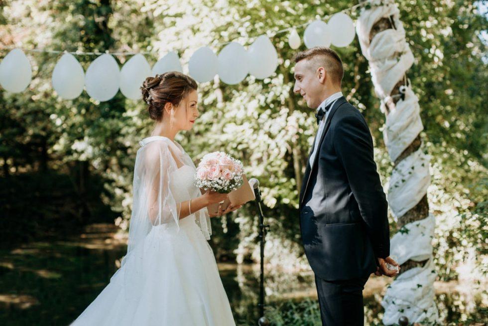 les voeux des mariés à la cérémonie laique